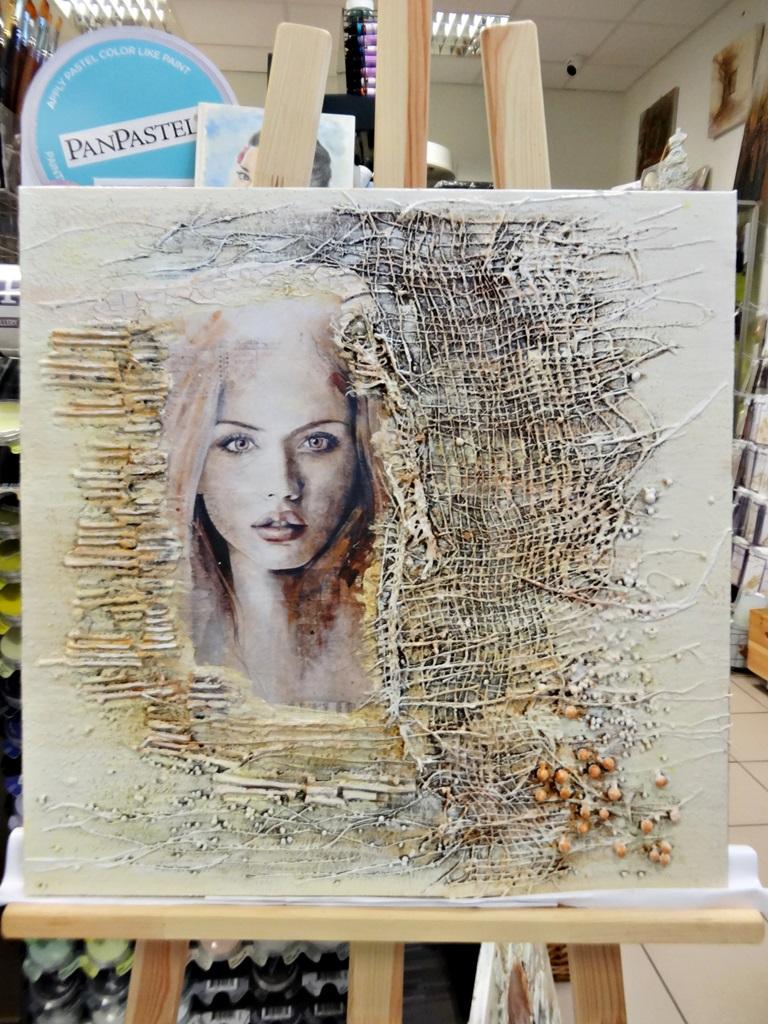 art hobby studioDSC03367warsztaty powertex obraz skalba anna