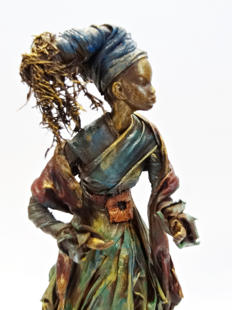arthobbystudio lublin0019warsztaty powertex postac afrykanska rzezba