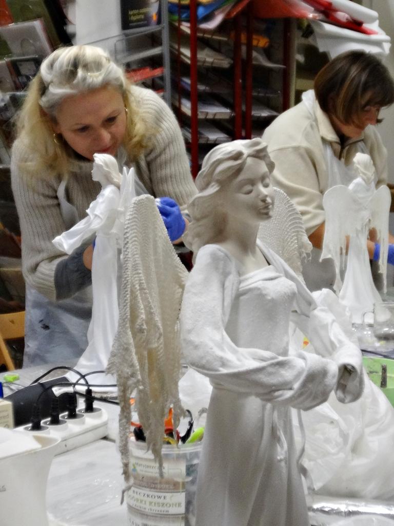arthobbystudio lublin0002warsztaty powertex aniol