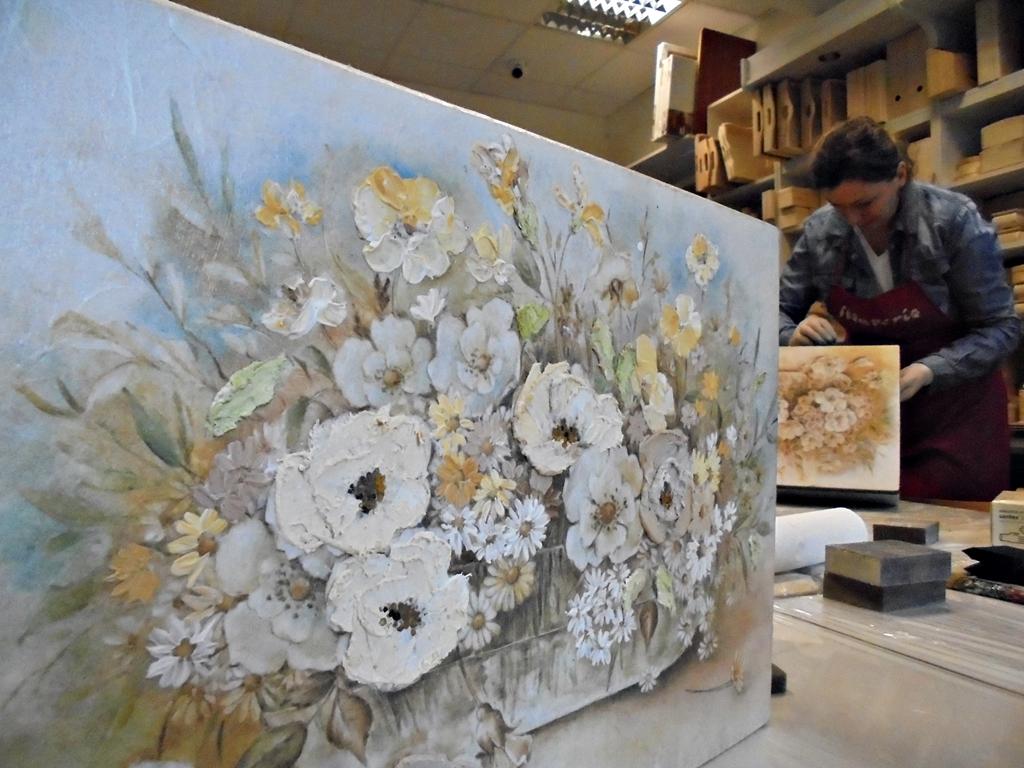 arthobbystudio lublin0005warsztaty kosz kwiatowy decoupage mixmedia skrzynia
