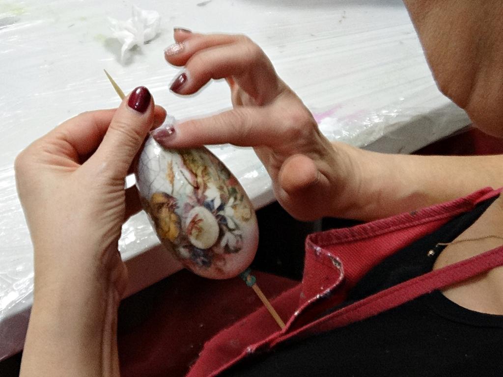 arthobbystudio lublin0005warsztaty wydmuszka crackle spekania decoupage