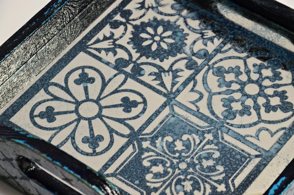 arthobbystudio lublin0023warsztaty taca mixmedia decoupage taca marokanska mozaika