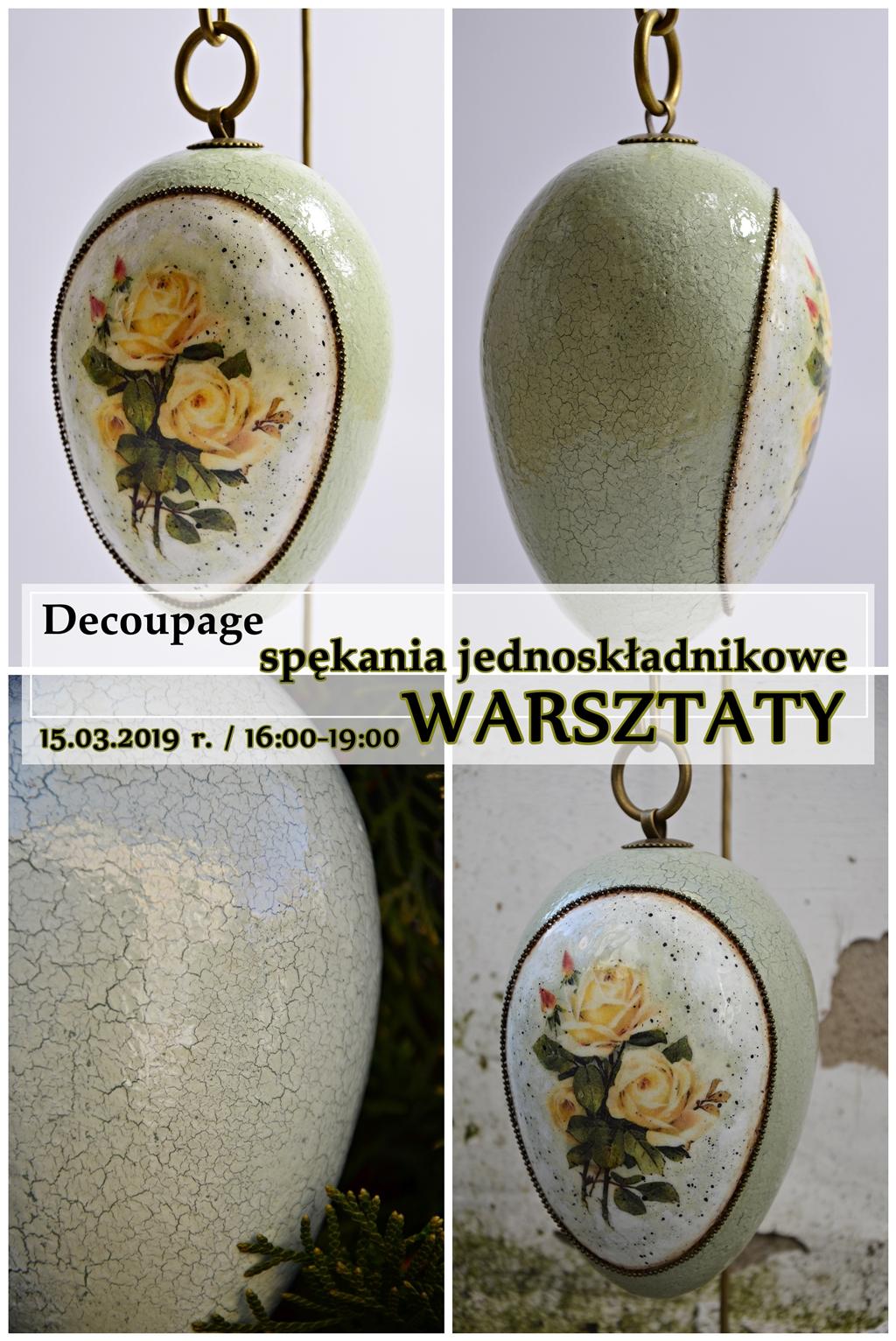 arthobbystudio warsztaty pisanka jako spekania cracle primula arte flora zmniejszone