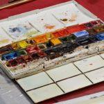 arthobbystudio lublin0009warsztaty akwarela akwarele farby akwarelowe malarstwo baletnica 150x150