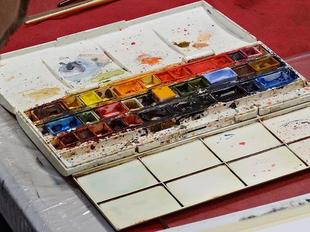 arthobbystudio lublin0009warsztaty akwarela akwarele farby akwarelowe malarstwo baletnica