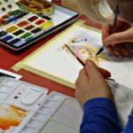 arthobbystudio lublin0011warsztaty akwarela akwarele farby akwarelowe malarstwo baletnica 150x150