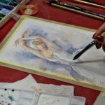 arthobbystudio lublin0013warsztaty akwarela akwarele farby akwarelowe malarstwo baletnica 150x150