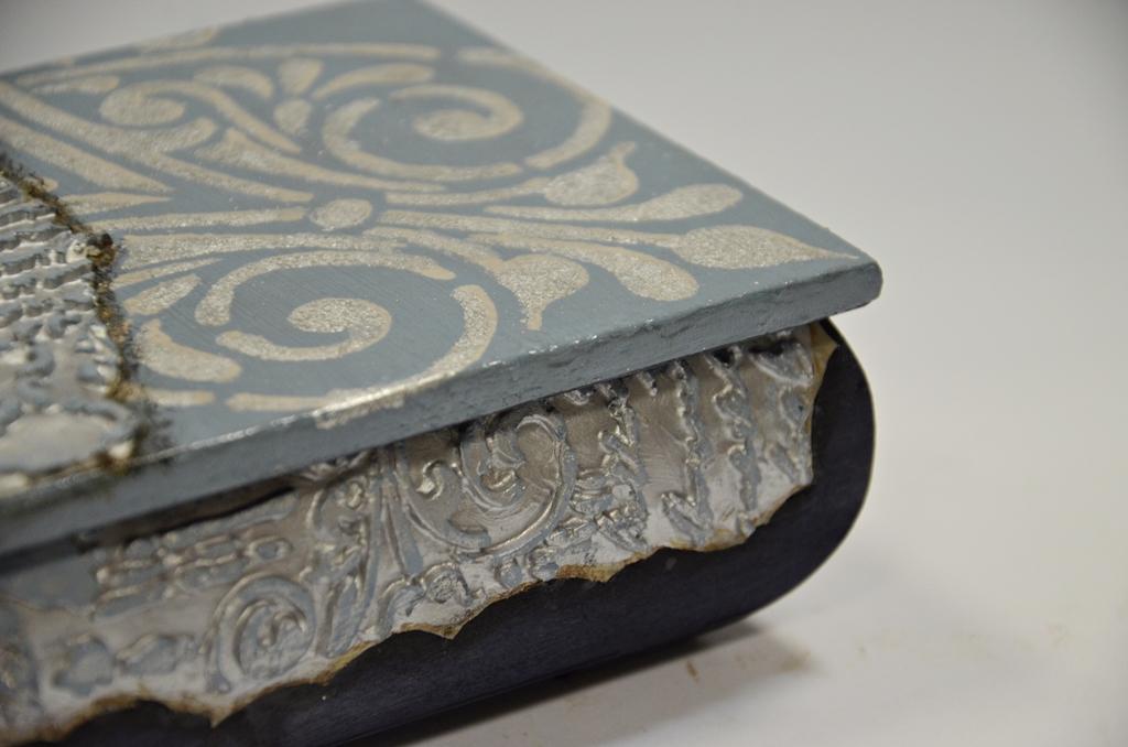 arthobbystudio lublin0015warsztaty decoupage mixmedia kasetka pudelko tekstura texture