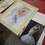 arthobbystudio lublin0016warsztaty akwarela akwarele farby akwarelowe malarstwo baletnica 150x150