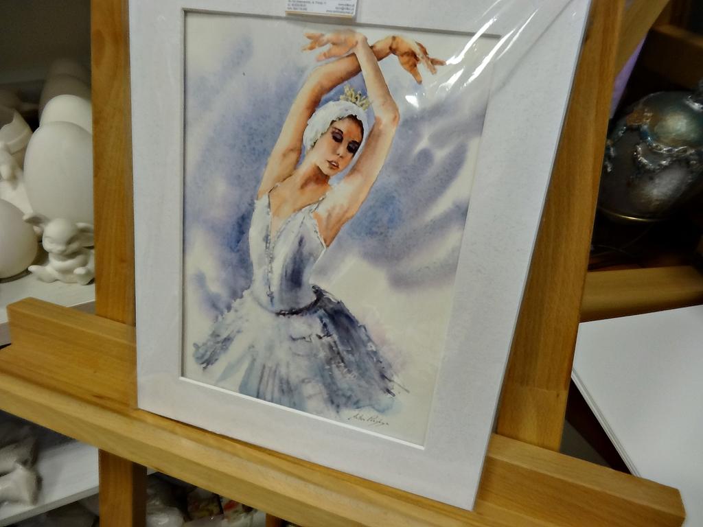 arthobbystudio lublin0017warsztaty akwarela akwarele farby akwarelowe malarstwo baletnica