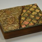arthobbystudio lublin0023warsztaty decoupage mixmedia kasetka pudelko tekstura texture 150x150