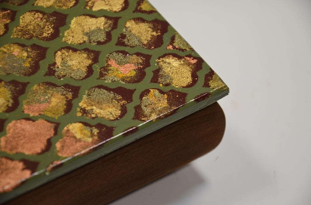 arthobbystudio lublin0028warsztaty decoupage mixmedia kasetka pudelko tekstura texture