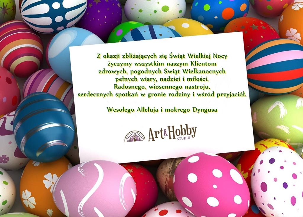 Wielkanoc zyczenia arthobbystudio lublin