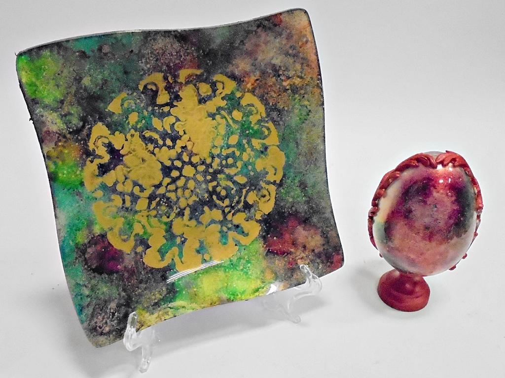arthobbystudio lublin0014warsztaty talerz zestaw pisanka mixmediowy mixmedia mixmediowa
