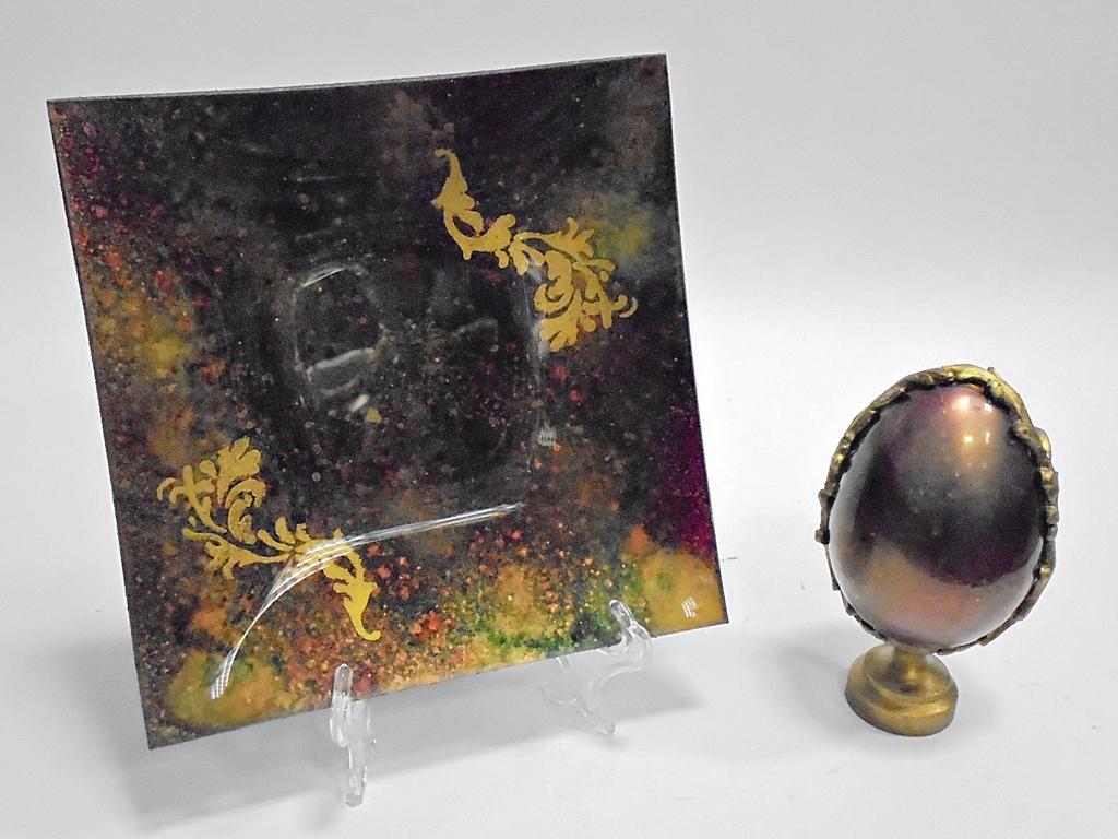 arthobbystudio lublin0021warsztaty talerz zestaw pisanka mixmediowy mixmedia mixmediowa