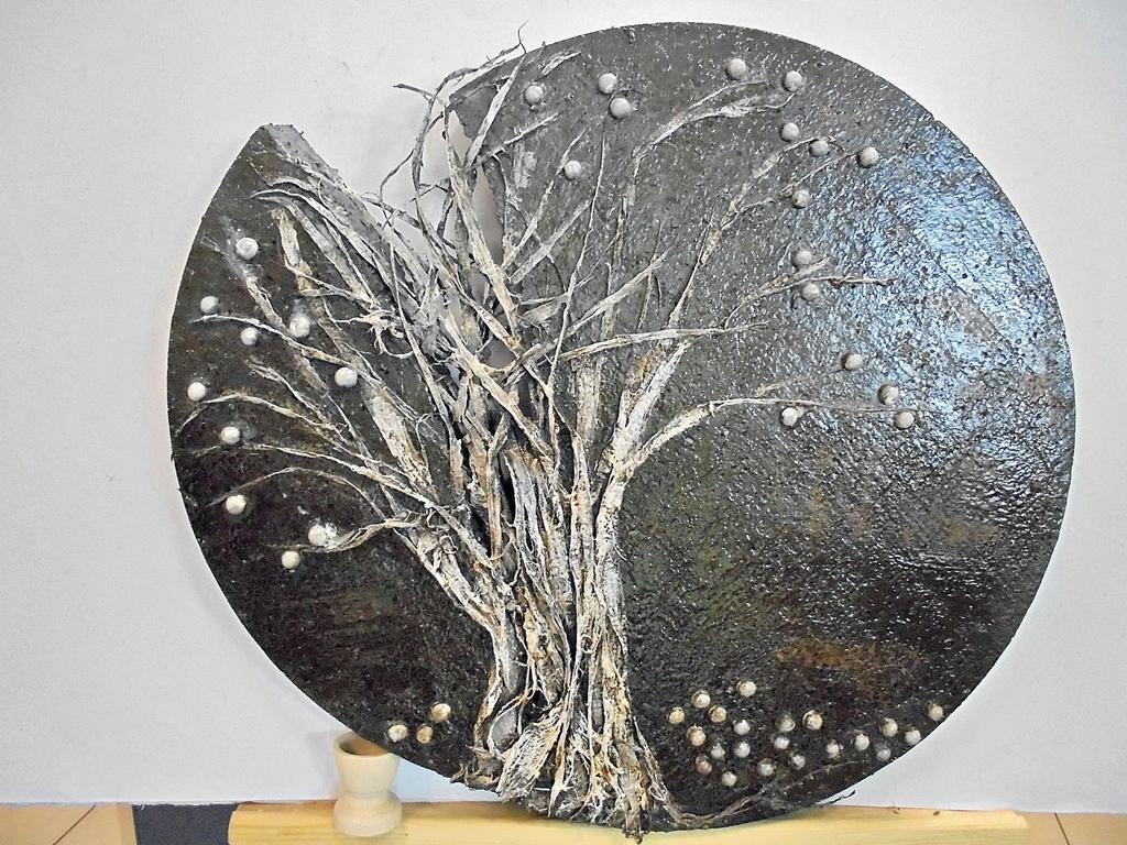 arthobbystudio lublin0027warsztaty powertex rzezba drzewo
