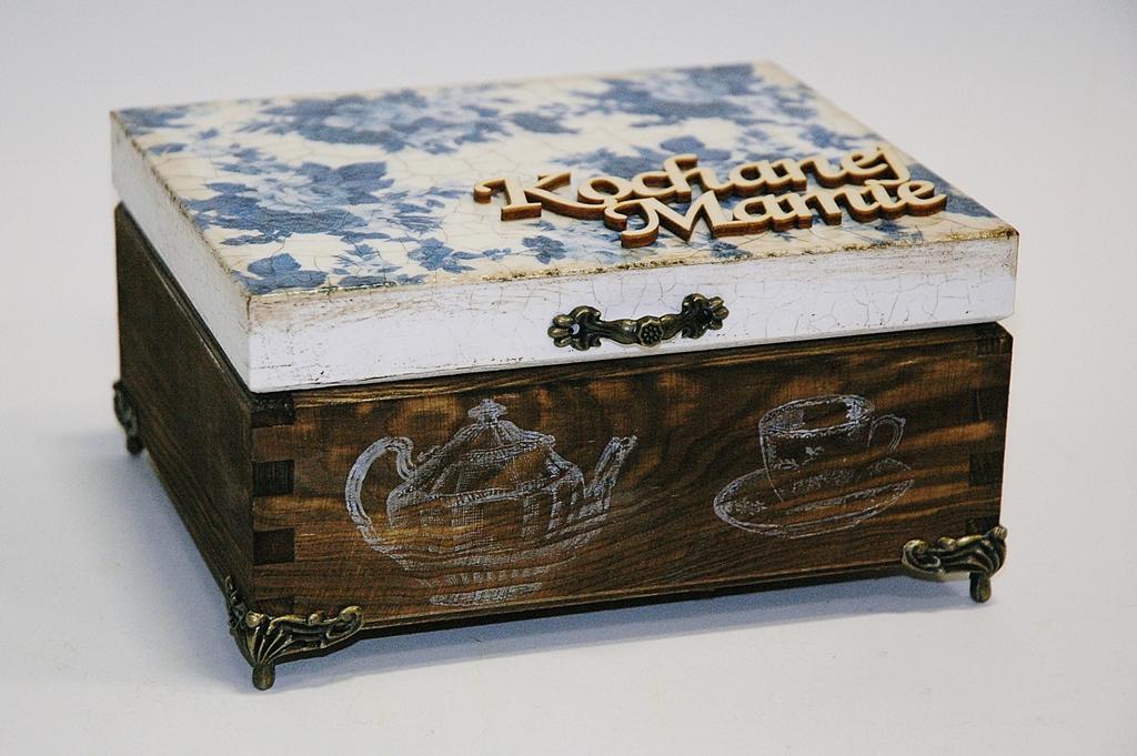 arthobbystudio lublin0005warsztaty decoupage herbaciarka vintage spekania cracle