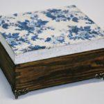 arthobbystudio lublin0006warsztaty decoupage herbaciarka vintage spekania cracle 150x150