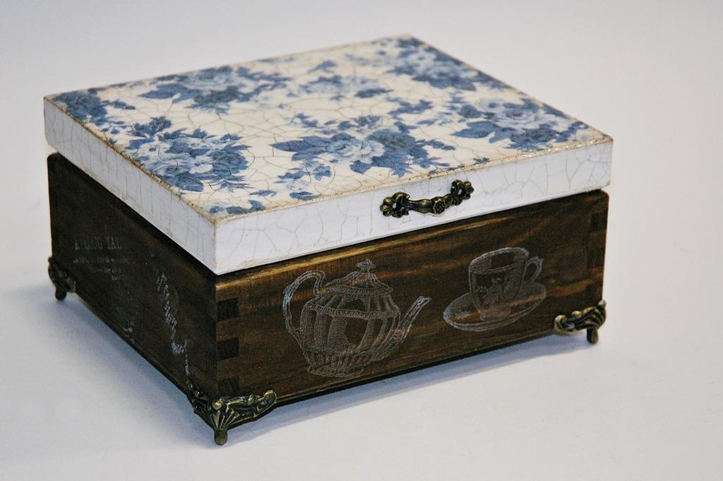 arthobbystudio lublin0011warsztaty decoupage herbaciarka vintage spekania cracle