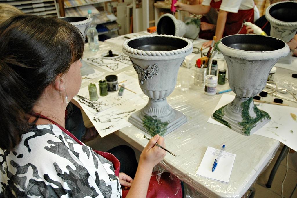 arthobbystudio lublin0002warsztaty efekt betonu mchu stylizacja ornament donica palacowa