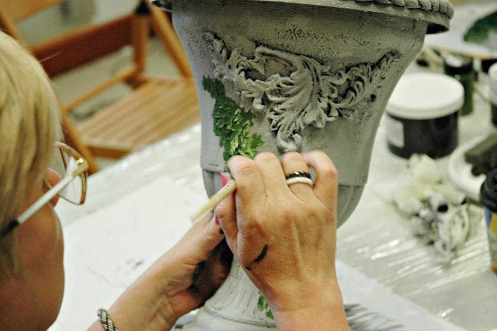 arthobbystudio lublin0008warsztaty efekt betonu mchu stylizacja ornament donica palacowa