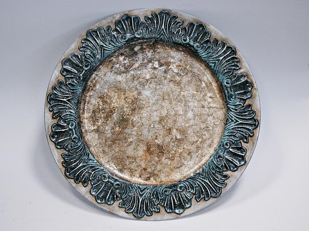 arthobbystudio lublin0014warsztaty patera talerz efekt antyczne srebro ornamenty dekoracja dekoracyjna zofia szewczyk