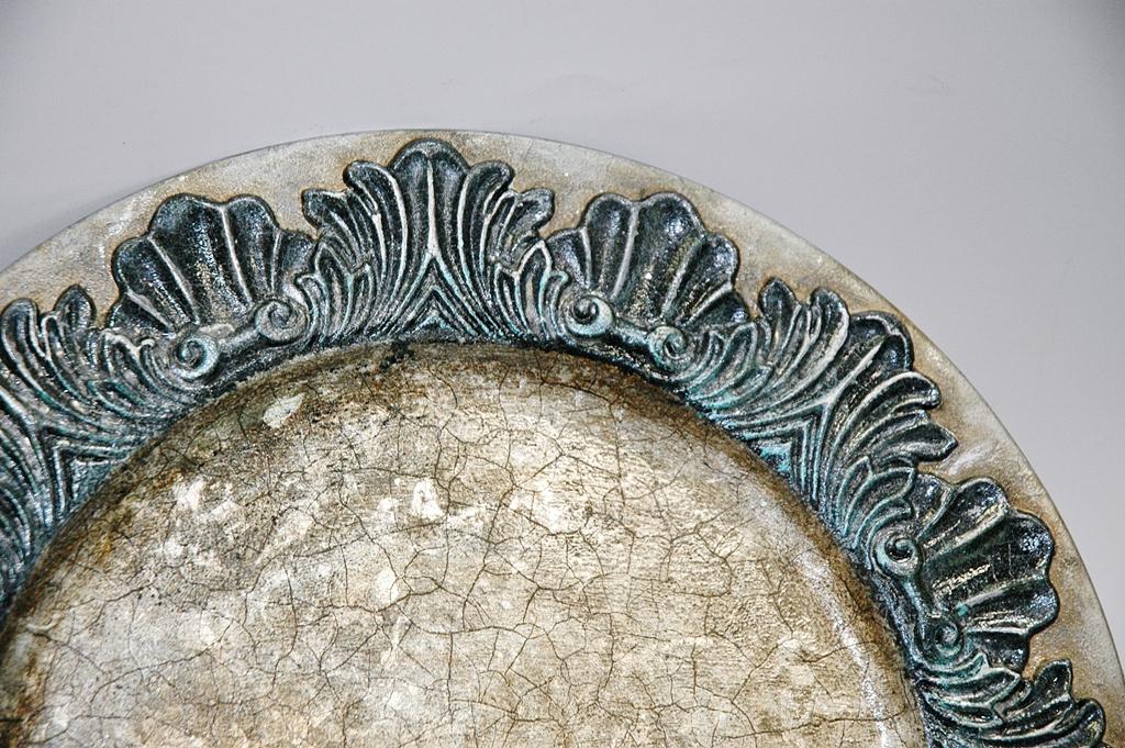 arthobbystudio lublin0015warsztaty patera talerz efekt antyczne srebro ornamenty dekoracja dekoracyjna zofia szewczyk