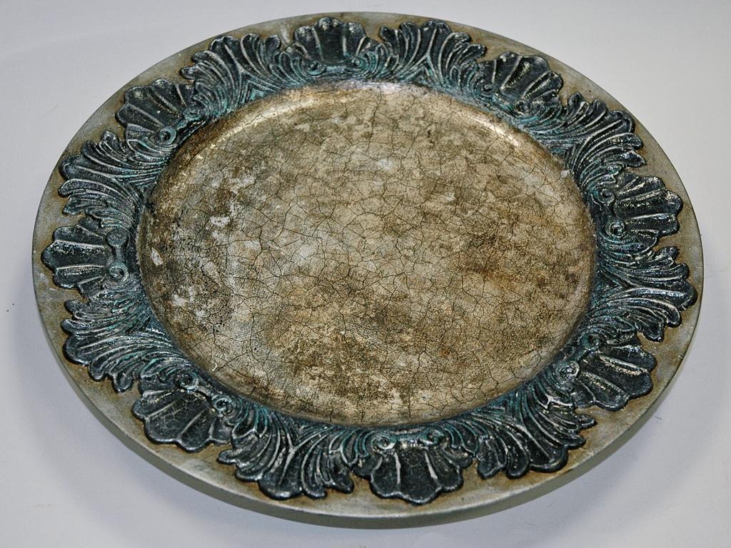 arthobbystudio lublin0018warsztaty patera talerz efekt antyczne srebro ornamenty dekoracja dekoracyjna zofia szewczyk
