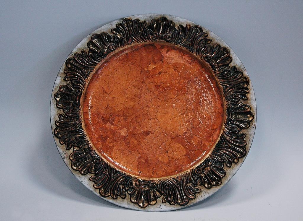 arthobbystudio lublin0027warsztaty patera talerz efekt antyczne srebro ornamenty dekoracja dekoracyjna zofia szewczyk