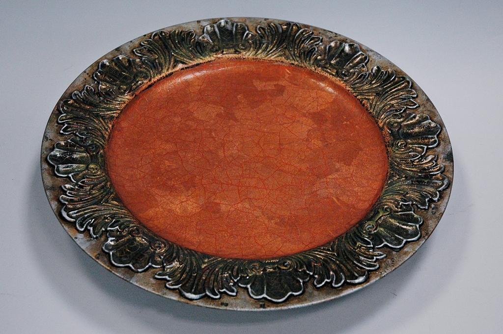 arthobbystudio lublin0031warsztaty patera talerz efekt antyczne srebro ornamenty dekoracja dekoracyjna zofia szewczyk