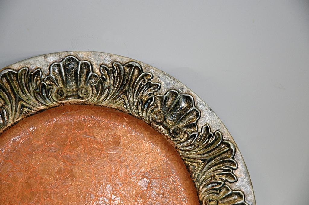 arthobbystudio lublin0033warsztaty patera talerz efekt antyczne srebro ornamenty dekoracja dekoracyjna zofia szewczyk