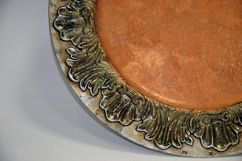 arthobbystudio lublin0034warsztaty patera talerz efekt antyczne srebro ornamenty dekoracja dekoracyjna zofia szewczyk