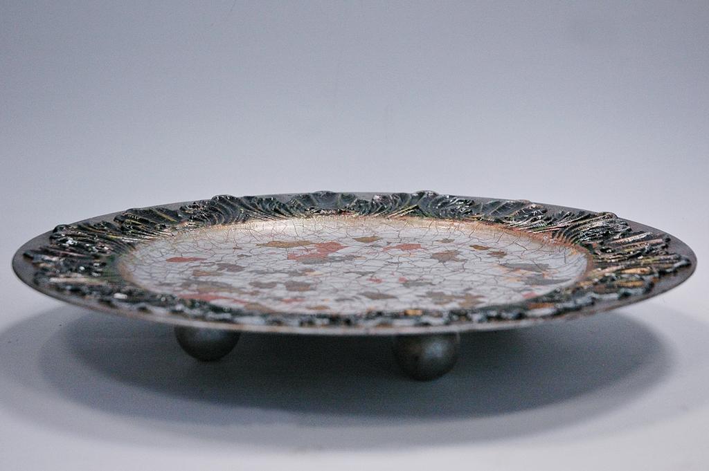 arthobbystudio lublin0038warsztaty patera talerz efekt antyczne srebro ornamenty dekoracja dekoracyjna zofia szewczyk