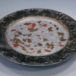 arthobbystudio lublin0041warsztaty patera talerz efekt antyczne srebro ornamenty dekoracja dekoracyjna zofia szewczyk 150x150
