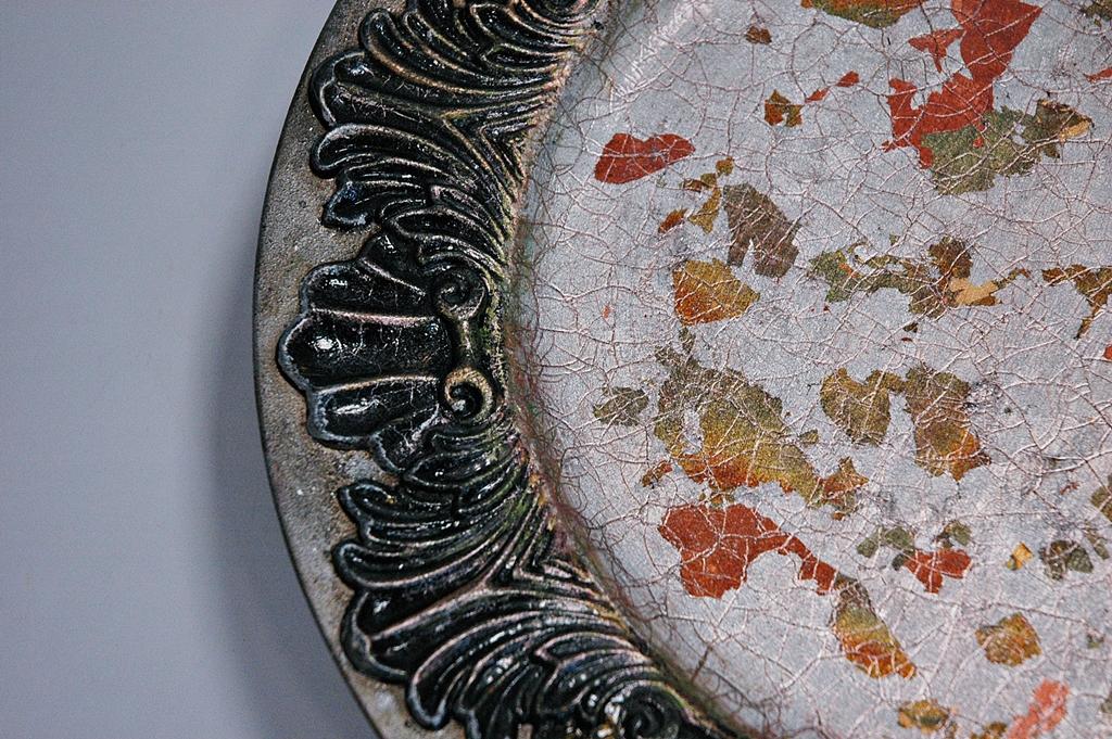arthobbystudio lublin0043warsztaty patera talerz efekt antyczne srebro ornamenty dekoracja dekoracyjna zofia szewczyk