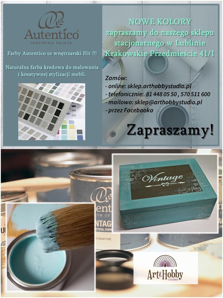 plakat farby kredowe stylizacja mebli autentico arthobbystudio lublin blog