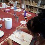 arthobbystudio lublin0003warsztaty obraz na plotnie baletnica malarstwo szpachelkowe cieniowania 150x150