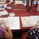 arthobbystudio lublin0007warsztaty obraz na plotnie baletnica malarstwo szpachelkowe cieniowania 150x150