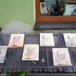 arthobbystudio lublin0011warsztaty obraz na plotnie baletnica malarstwo szpachelkowe cieniowania 150x150