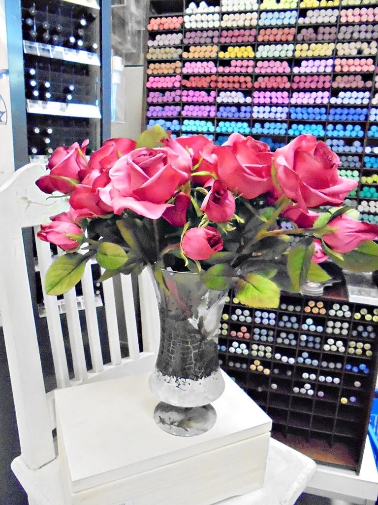 arthobbystudio lublin0012warsztaty foamiran kwiatyzfoamiranu pianka roza