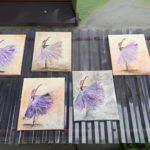 arthobbystudio lublin0014warsztaty obraz na plotnie baletnica malarstwo szpachelkowe cieniowania 150x150