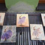 arthobbystudio lublin0016warsztaty obraz na plotnie baletnica malarstwo szpachelkowe cieniowania 150x150