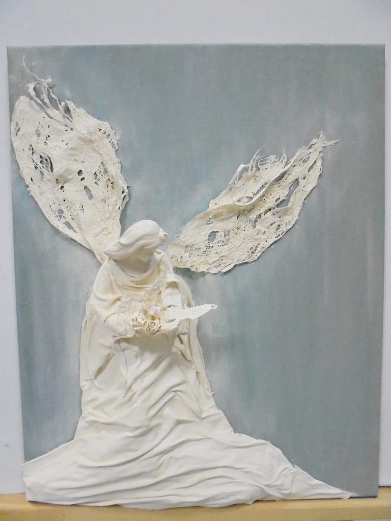 arthobbystudio lublin0017warsztaty powertex aniol na blejtramie