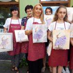 arthobbystudio lublin0018warsztaty obraz na plotnie baletnica malarstwo szpachelkowe cieniowania 150x150