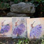 arthobbystudio lublin0020warsztaty obraz na plotnie baletnica malarstwo szpachelkowe cieniowania 150x150