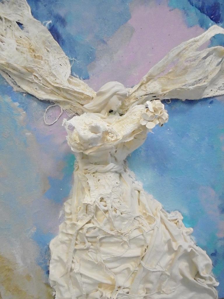 arthobbystudio lublin0021warsztaty powertex aniol na blejtramie