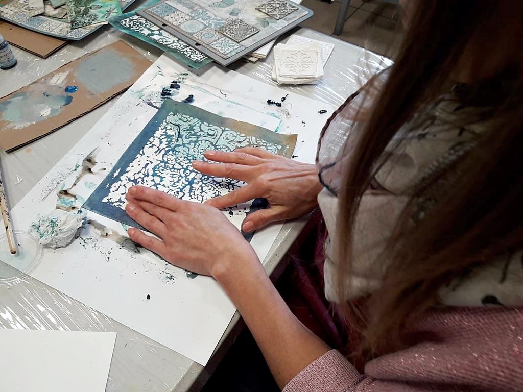 arthobbystudio lublin0010warsztaty scrap scrapbooking album azulejo