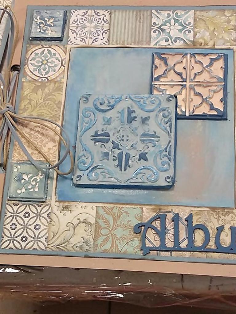 arthobbystudio lublin0016warsztaty scrap scrapbooking album azulejo