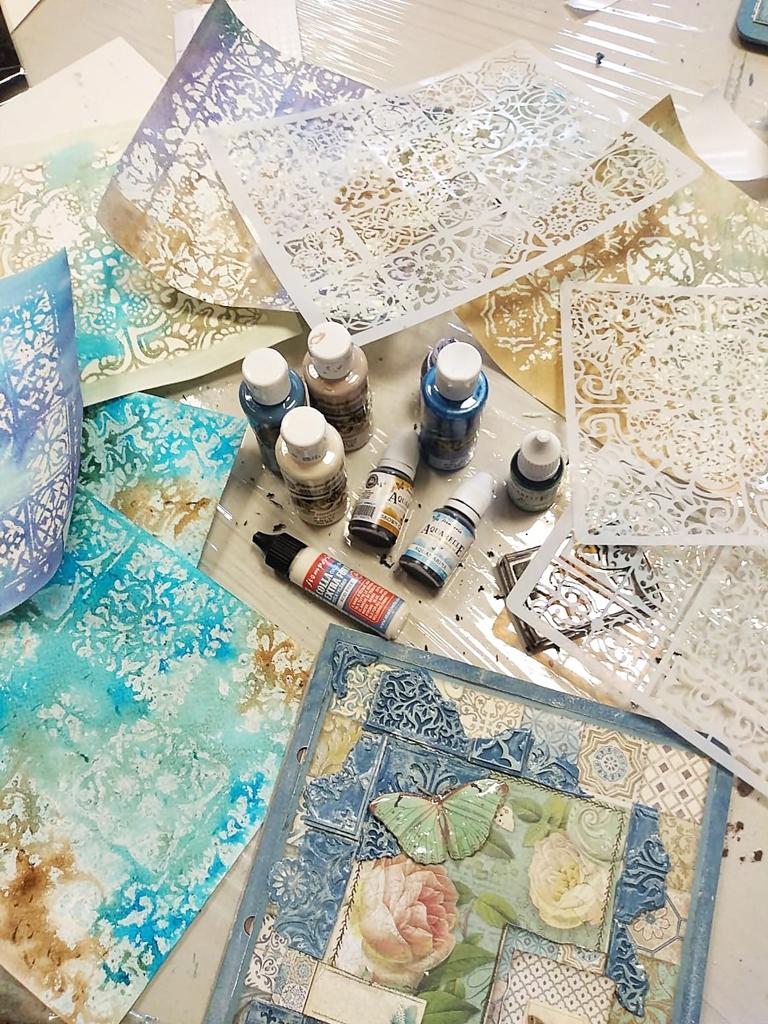 arthobbystudio lublin0020warsztaty scrap scrapbooking album azulejo