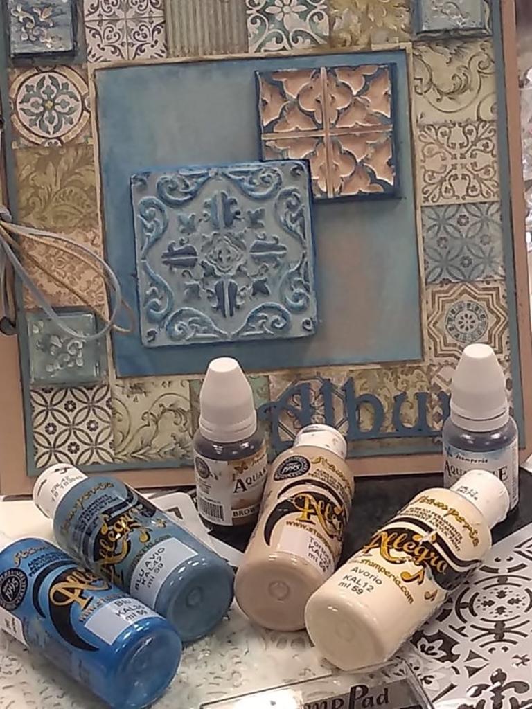 arthobbystudio lublin0023warsztaty scrap scrapbooking album azulejo